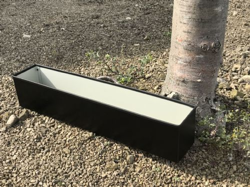 72cm Long Black Window Box Planter